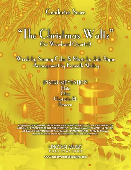 The Christmas Waltz (for Woodwind Quartet)