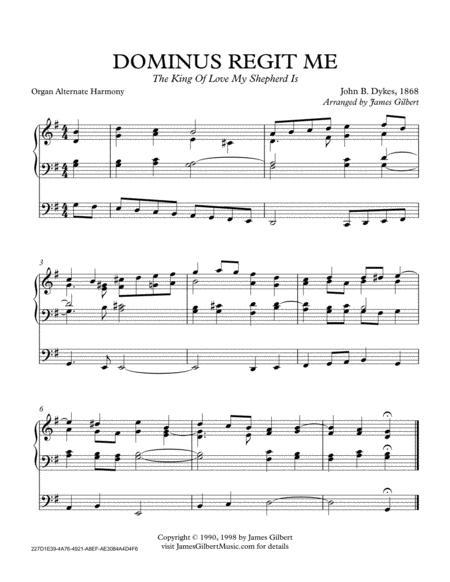 DOMINUS REGIT ME (The King Of Love My Shepherd Is) (ORA)