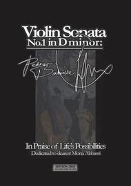 Violin Sonata in D minor