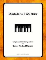 quietude no. 8 in g major by james michael stevens - digital sheet music  for sheet music single - download & print s0.656993 | sheet music plus  sheet music plus