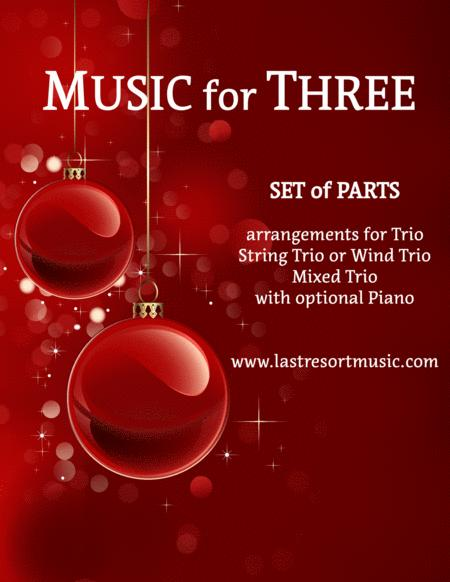Greensleeves for String Trio (or Wind Trio or Mixed Trio)