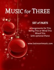 It Came Upon a Midnight Clear for Piano Trio (Violin, Cello & Piano)