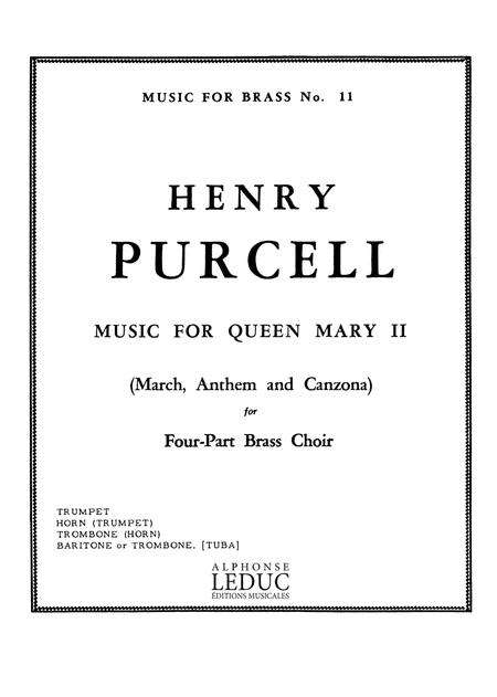 Music For Queen Mary II