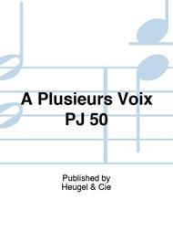 A Plusieurs Voix PJ 50