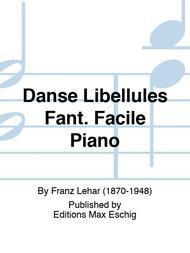 Danse Libellules Fant. Facile Piano