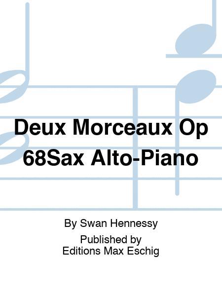 Deux Morceaux Op 68Sax Alto-Piano