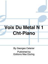 Voix Du Metal N 1 Cht-Piano