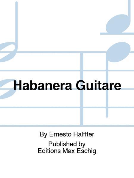 Habanera Guitare