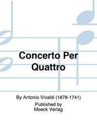 Concerto Per Quattro
