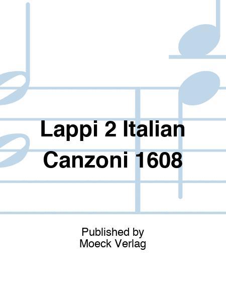 Lappi 2 Italian Canzoni 1608