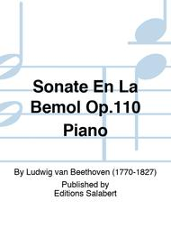 Sonate En La Bemol Op.110 Piano