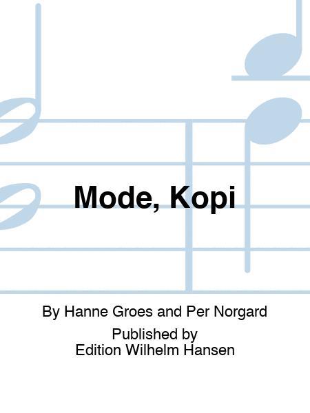 Mode, Kopi
