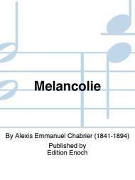 Melancolie