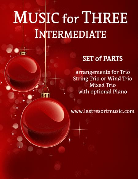 It's Christmas Time Again For String Or Piano Trio (or ...