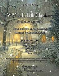 We Need a Little Christmas (for Brass Quintet)
