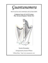 Guantanamera, Conductor's Score