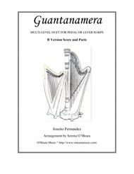 Guantanamera, B-Version, Score + Parts