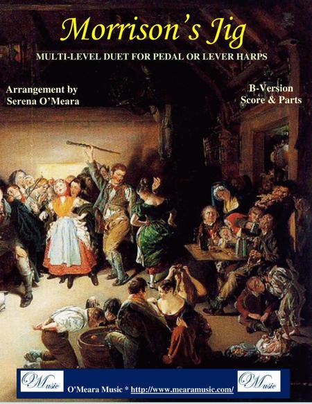 Morrison's Jig, B-Version, Score & Parts