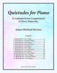 Quietudes for Piano