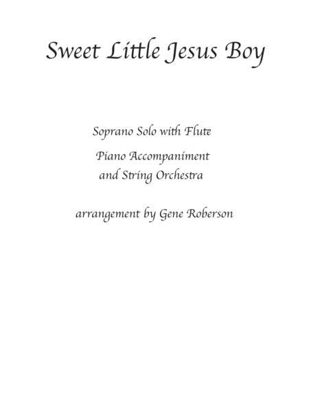 Sweet Little Jesus Boy Soprano-Tenor Solo