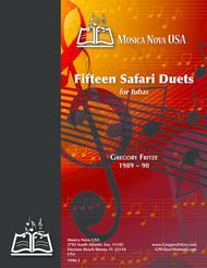 Fifteen Safari Duets for Tubas