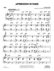 Afternoon in Paris (arr. Michael Philip Mossman) - Piano