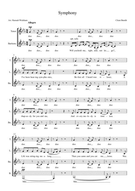 Symphony SSAA a capella