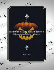 Rise of the Scary Jack-O'-Lantern - advanced piano solo for Halloween