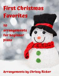 First Christmas Favorites - 10 Arrangements for Beginner Piano