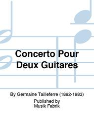Concerto Pour Deux Guitares