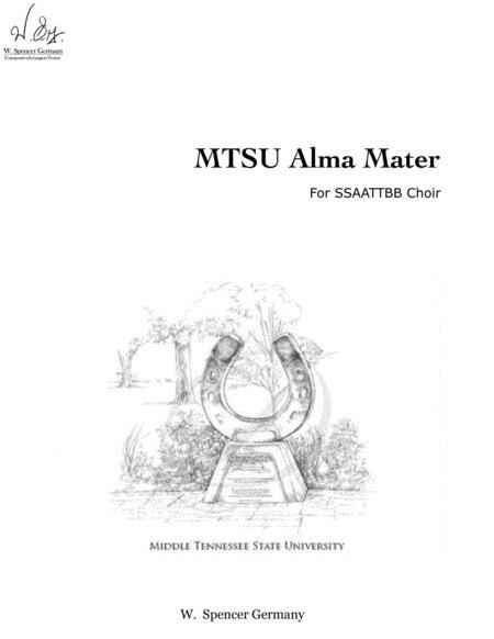 MTSU Alma Mater (SATB)