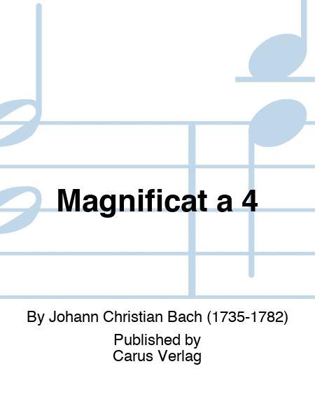 Magnificat a 4
