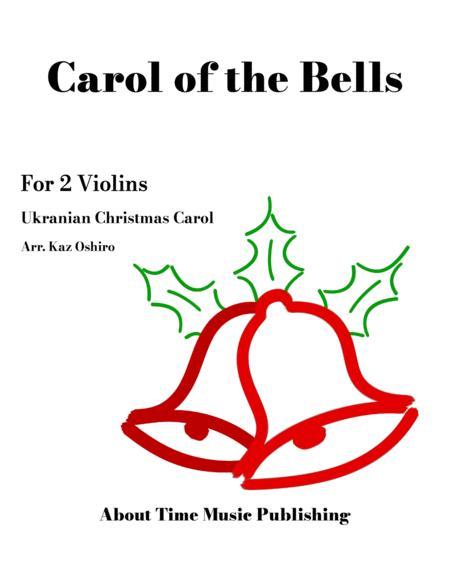 Carol of the Bells - for 2 Violins (violin duet), G minor