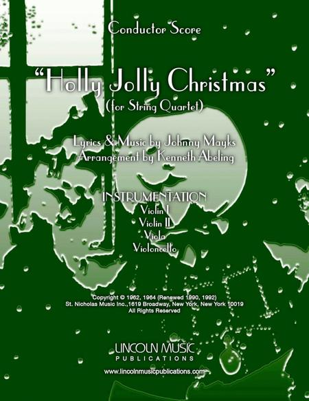 A Holly Jolly Christmas (for String Quartet)