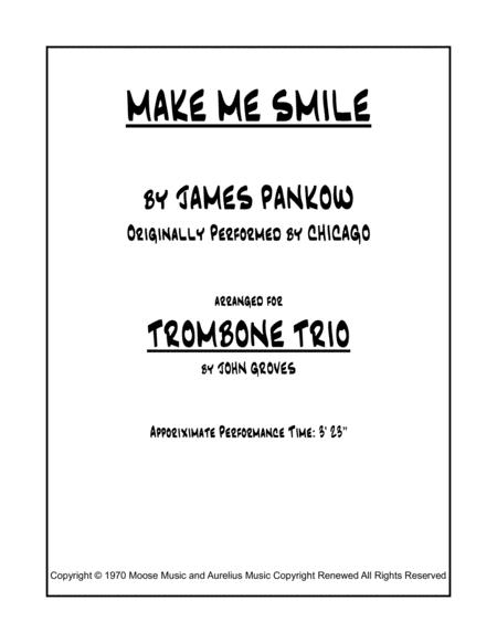 Make Me Smile - Trombone Trio