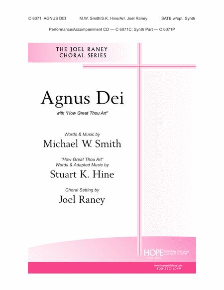 Agnus Dei with How Great Thou Art-SATB-Digital Version