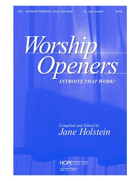 Worship Openers: Introits that Work!, Vol. 1