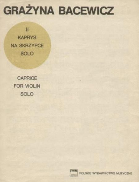 Caprice No. 2