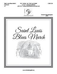 Saint Louis Blues March - Full Score