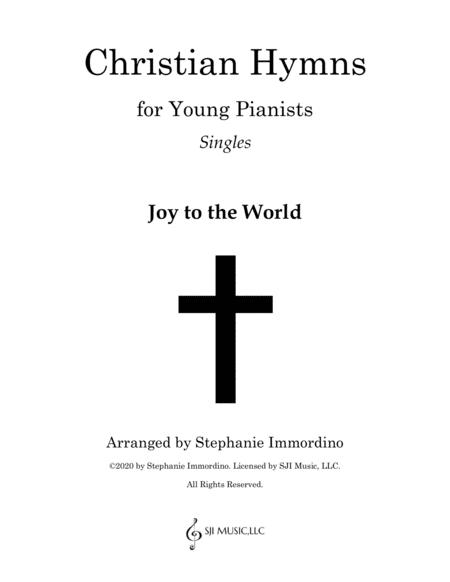 Christian Hymns for Young Pianists Singles: Joy to the World