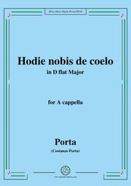 Porta-Hodie nobis de coelo,in D flat Major,for A cappella