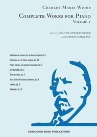 Complete Works for Piano, Volume 1