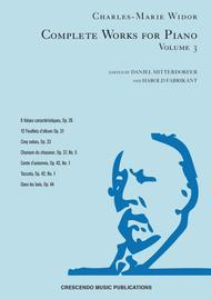 Complete Works for Piano, Volume 3