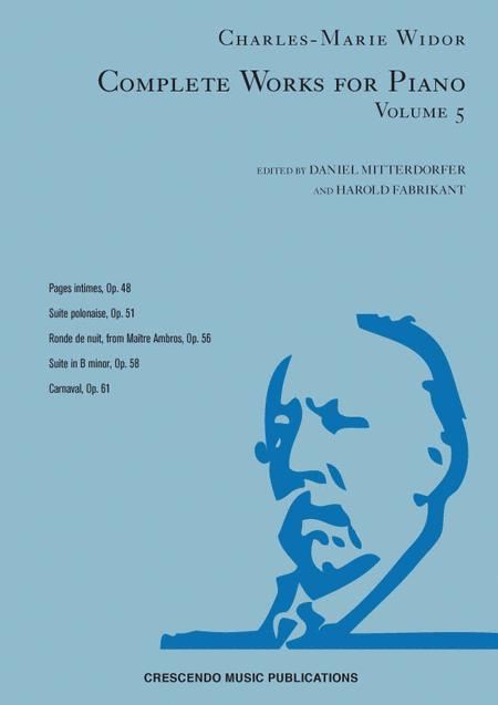Complete Works for Piano, Volume 5