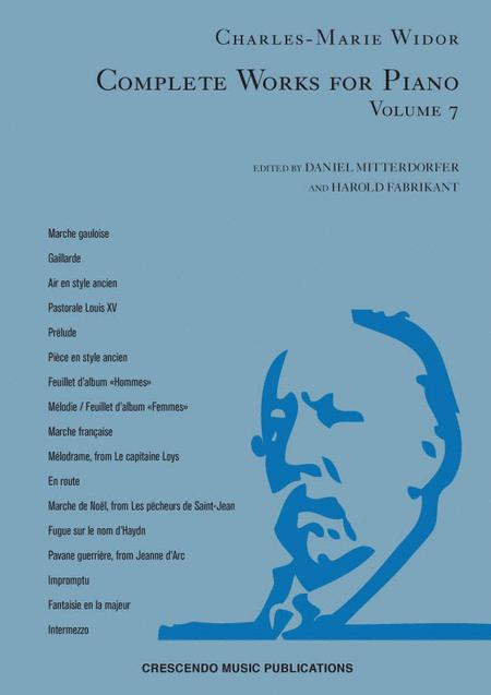 Complete Works for Piano, Volume 7