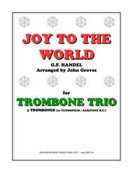 Joy To The World - Trombone Trio
