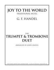 Joy To The World - Trumpet & Trombone Duet