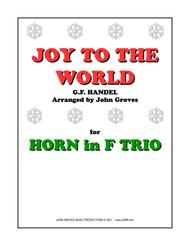 Joy To The World - Horn Trio