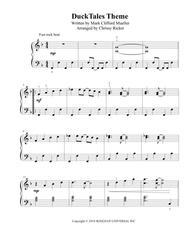 DuckTales Theme - intermediate piano