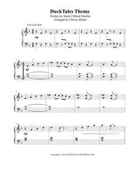 DuckTales Theme - easy piano